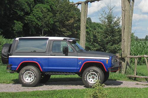 A Retired Marines Ford Bronco II